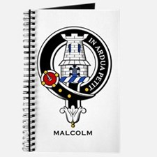 Malcolm Clan Crest Badge Journal