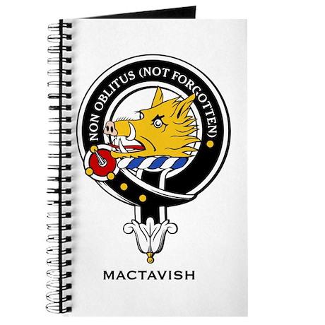 MacTavish Clan Crest Badge Journal