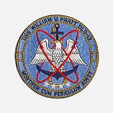 """USS WILLIAM V. PRATT 3.5"""" Button"""