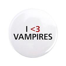 "I <3 Vampires 3.5"" Button"