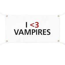 I <3 Vampires Banner