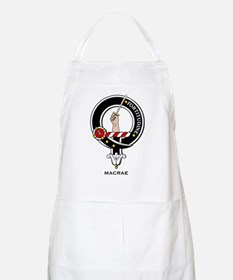 MacRae Clan Crest Badge BBQ Apron