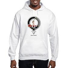 MacRae Clan Crest Badge Hoodie