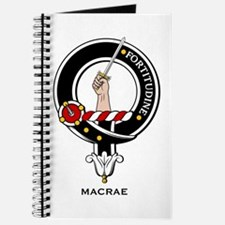 MacRae Clan Crest Badge Journal