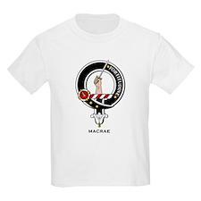MacRae Clan Crest Badge Kids T-Shirt
