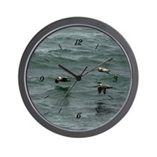 Ocean Pelican by BuffaloWorks Wall Clock