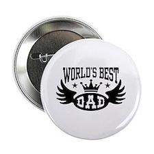 """World's Best Dad 2.25"""" Button"""