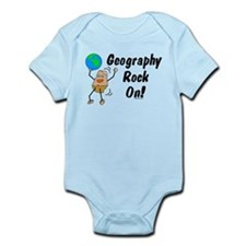 Geography Rock On Infant Bodysuit