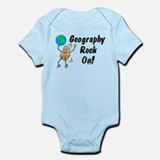 Geography Rock On Infant Bodysuit