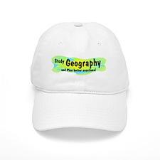 Geography Baseball Cap