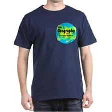 Geography Pocket Image T-Shirt