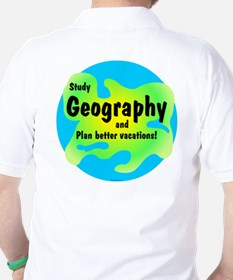 Geography (Back) T-Shirt