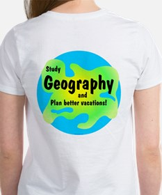 Geography (Back) Women's T-Shirt