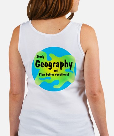 Geography (Back) Women's Tank Top