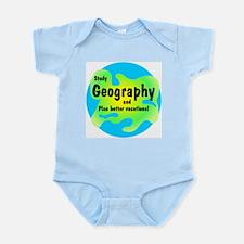 Geography Infant Bodysuit