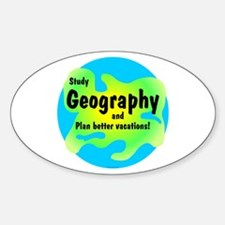 Geography Decal