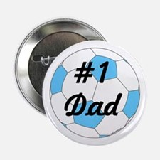 """Number 1 Dad 2.25"""" Button"""
