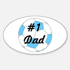 Number One Dad Decal