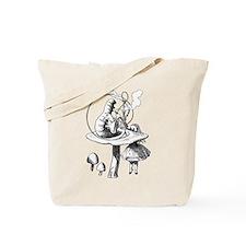 Alice & the Caterpillar Tote Bag