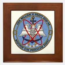 USS WILLIAM V. PRATT Framed Tile
