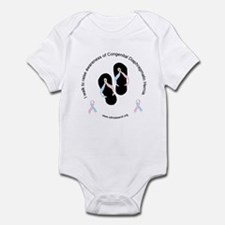 I Walk To Raise CDH Awareness Infant Bodysuit