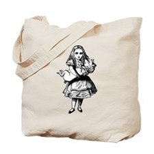 Alice and the Pig Baby Tote Bag