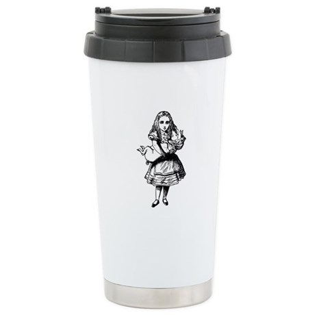Alice and the Pig Baby Stainless Steel Travel Mug