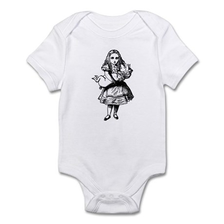 Alice and the Pig Baby Infant Bodysuit