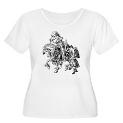 Alice and the White Knight T-Shirt