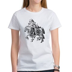 Alice and the White Knight Tee
