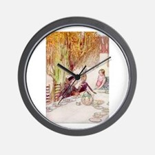Uncomfortable for the Dormouse Wall Clock