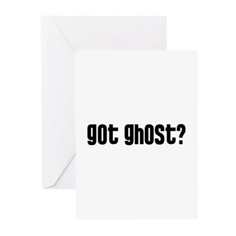 Got Ghost? Greeting Cards (Pk of 20)