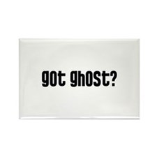 Got Ghost? Rectangle Magnet