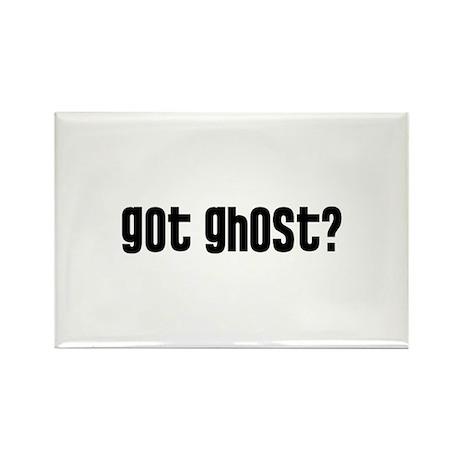 Got Ghost? Rectangle Magnet