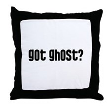 Got Ghost? Throw Pillow