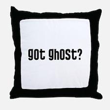Got Ghost? Throw Pillow