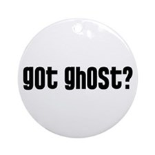 Got Ghost? Ornament (Round)