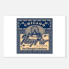 Navy Pier Box Design Postcards (Package of 8)
