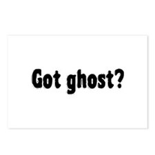 Got Ghost? Postcards (Package of 8)