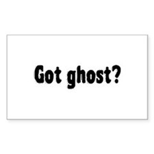 Got Ghost? Decal