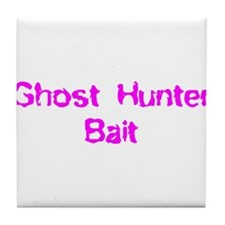 Ghost Hunter Bait Tile Coaster