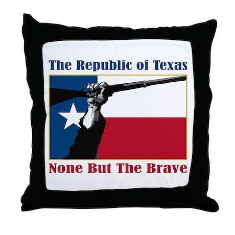 Republic of Texas Throw Pillow