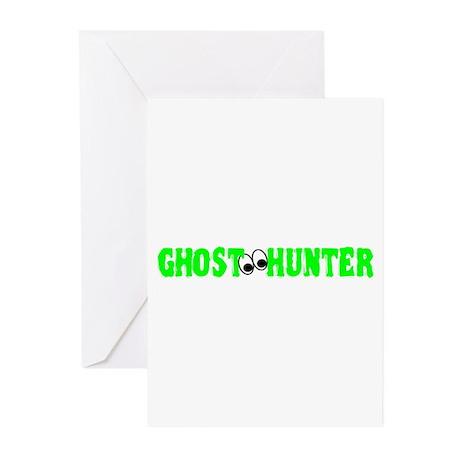 Ghost Hunter Eyes Greeting Cards (Pk of 20)