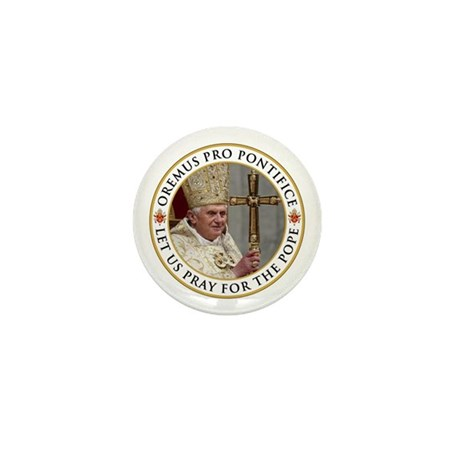 Pray For Pope Benedict XVI Mini Button (10 pack)