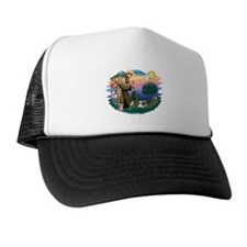 St Francis #2 / Shih Tzu (A) Trucker Hat