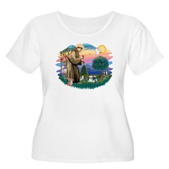 St Francis #2 / Shih Tzu (A) T-Shirt