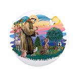 St Francis #2 / Weimaraner 3.5