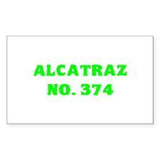 Alcatraz No. 374 Decal
