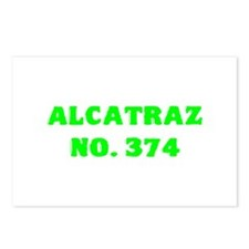 Alcatraz No. 374 Postcards (Package of 8)