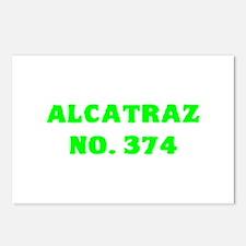 Alcatraz No. 374 Postcards (Package of 8)